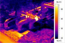 диагностика теплотрасс и поиск мест утечек