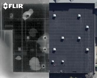 Обнаружение повреждений на крышах от воды