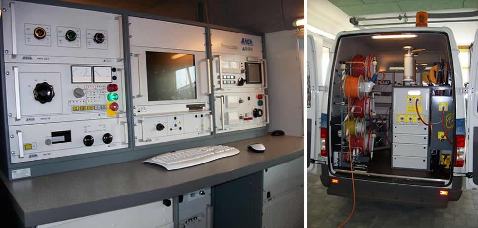 Оборудование электротехнической лаборатории