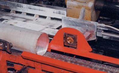 Пирометр при производстве алюминиевых профилей