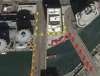 GPS координаты обследований трассоискателем
