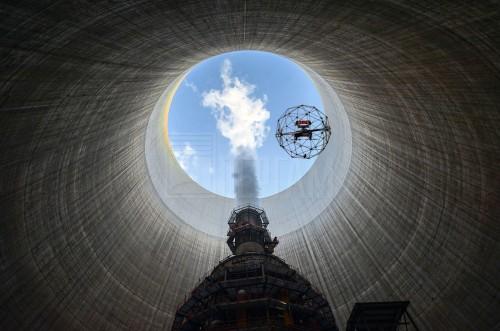 Обследование атомной электростанции