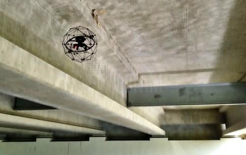 Квадрокоптер для обследования мостов