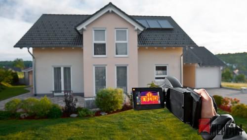 Тепловизионное обследование недвижимости