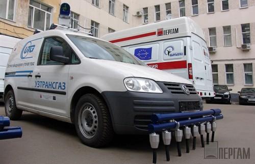 Обнаружение утечек газа в городских условиях