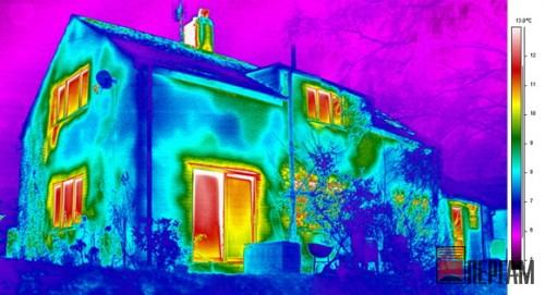 Тепловизионная диагностика жилья
