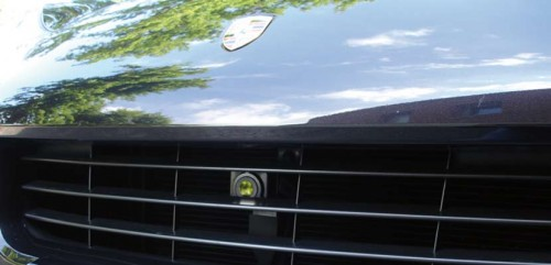 Тепловизор в Porsche Cayenne