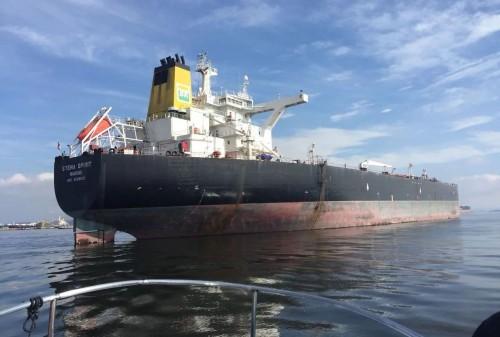 Обследование судна при помощи Flyability Elios