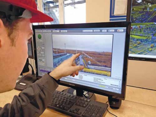 Мониторинг утечек метана на ПХГ
