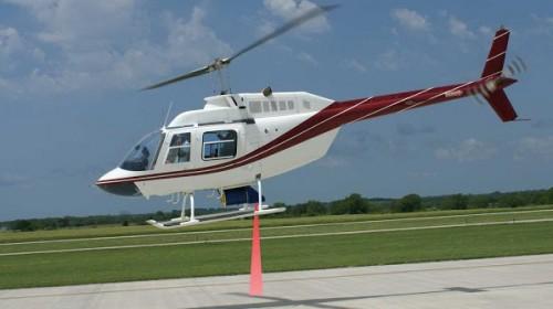 Контроль утечки газа с вертолёта
