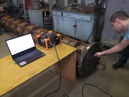 Обучение работе с дефектоскопом