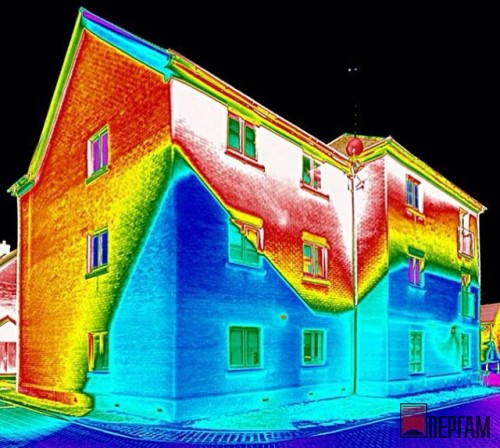Тепловизор в строительстве
