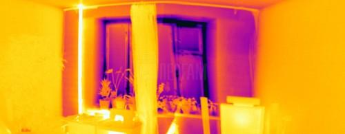 Термограмма квартиры