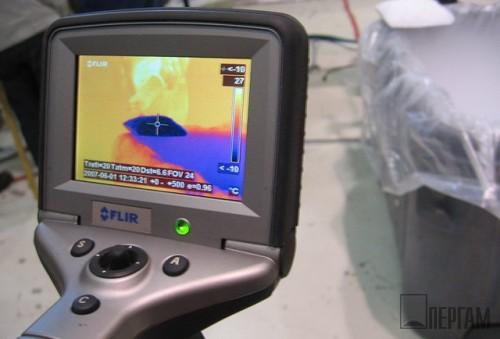 Тепловизор в аэропорту