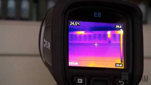 Диагностика электротехнического оборудования тепловизором