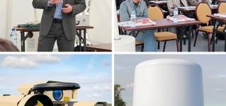 Демонстрация радиолокационных и тепловизионных систем обнаружения
