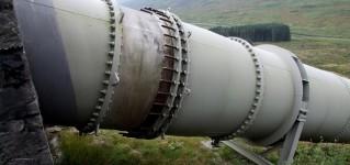 Обследование газопроводов в холодной и влажной Шотландии