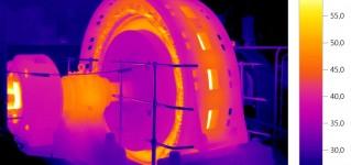 Диагностическое обслуживание с помощью тепловизионных камер