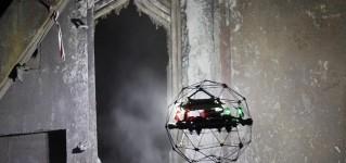 Промышленный дрон Elios 2 обследовал поверхности нагрева топки котлов и трубы ГРЭС