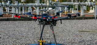 Испытания беспилотника с лазерным детектором метана в Бельгии