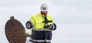 Обследование канализации и водостоков при помощи дрона