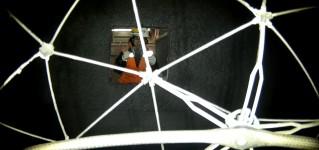 Проверка оборудования для добычи меди квадрокоптером Elios