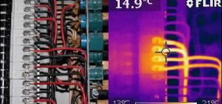 Дефектоскопия электрооборудования при помощи тепловизионного анализа