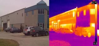 Тепловизионный метод контроля зданий