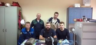 Обучили специалистов Тольяттиазот работе с дефектоскопом OmniScan MX