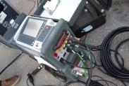 Испытательная установка для контроля диэлектрических потерь