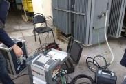 Установка для контроля состояния изоляции вв оборудования