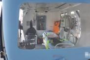 Оборудование для жизнеобеспечения в спасательном вертолёте