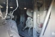 Внутри боевой машины БТР-80