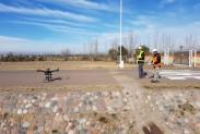 Испытания квадрокоптера с LMC