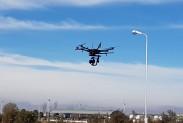 Квадрокоптер в небе Аргентины