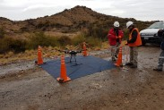 Подготовка площадки для дрона