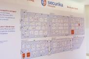 Схема стендов Securika Moscow 2018