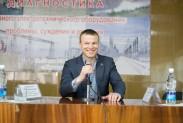 Юрий Огнев - Пергам на концеренции в Бишкеке
