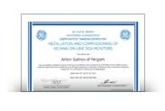 Сертификат GE Renewable