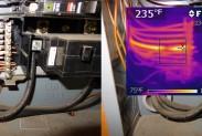 Тепловизор выявил проблемы в электрике
