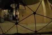 Обследование помещения возле реактора