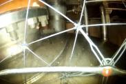 Дрон обследует реакторный зал
