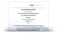 Авторизационное письмо FLIR СНГ