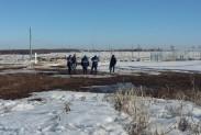 Обследование трассоискателем на объекте Газпрома