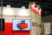 Стенд компании Пергам на выставке NDT 2014