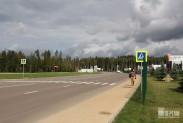 Территория парка ПАТРИОТ впечатляет своими размерами