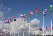 Угадайте, флаги чьих стран развеваются в небе парка Патриот