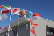 Флаги в парке Патриот