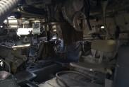 Внутри зенитного комплекса ОСА