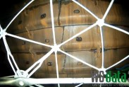Квадрокоптер обследует дробильное оборудование